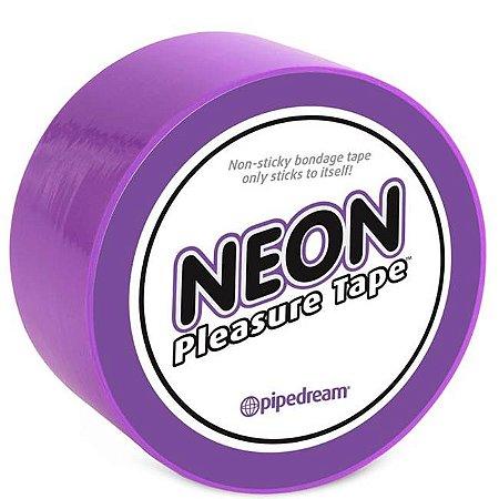 Fita para amarrar - neon bondage tape purple