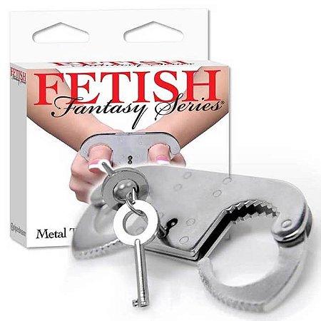 Algema para dedos - metal thumb cuffs