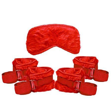 Kit bondage - cor vermelha