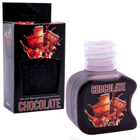 Gel comestível Hot 30ml - Chocolate