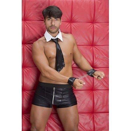 Fantasia erótica sensual masculina gogo boy 50 tons sado