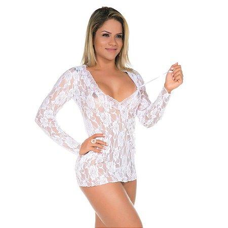 Camisola Sensual Desejo - Branca