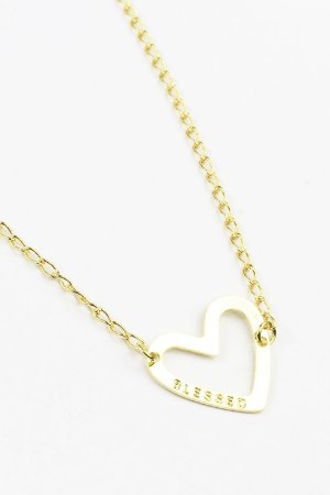Colar Blessed Pierced Heart (coração)