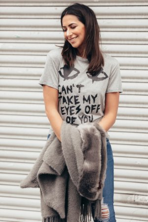 PARIS COLLECTION | Blusa Can't Take My Eyes Cinza