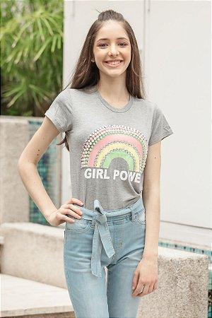 ESPECIAL SALE | T-shirt TEEN Girls Power Rainbow