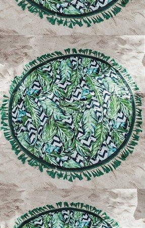 TULUM COLLECTION | Canga Green Garden c/ Necessaire
