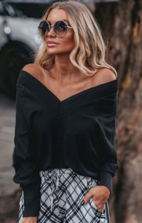 NYC COLLECTION   Blusa Tricot Lenox Ave