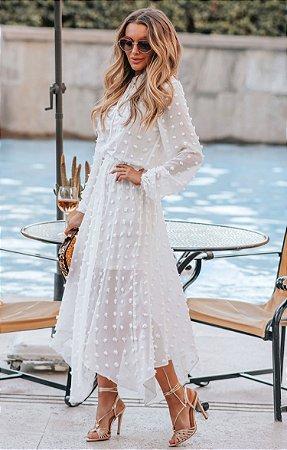 SPRING PREVIEW | Vestido Midi Poá Alli