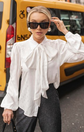 NYC COLLECTION | Camisa Laço Feminity Glitzy