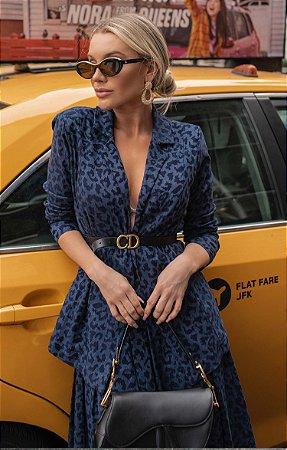 NYC COLLECTION   Blazer Blue Jaguar