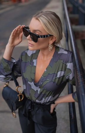NYC COLECTION | Blusa Camouflage