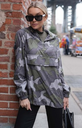 NYC COLLECTION | Jaqueta Camouflage