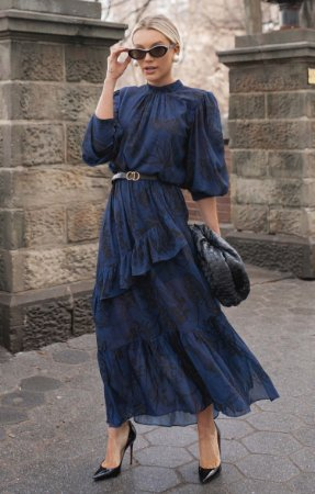 NYC COLLECTION | Vestido Midi Victoriana