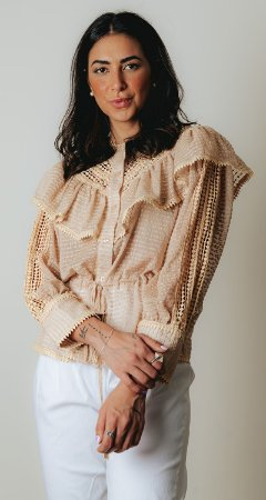 NYC COLLECTION   Camisa Cecilie