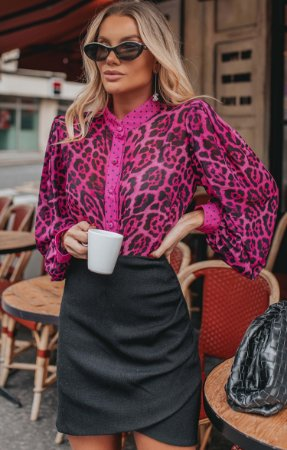 L'AMOUR COLLECTION | Camisa Animal Print Valerie