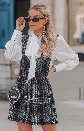 Salopete Tweed Antonieta | L'AMOUR COLLECTION