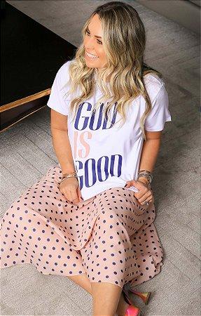 T-shirt God Is Good   BLESSED ART