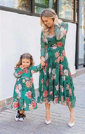 Vestido Floral Monet Blessinha | BLESSED ART