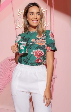 T-shirt Floral Monet | BLESSED ART