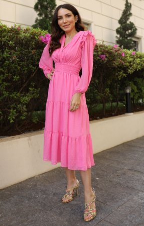 Vestido Jasmim Rosa | DROPS OF JOY