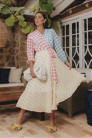 Vestido Charlotte Midi | RIVIERA FRANCESA