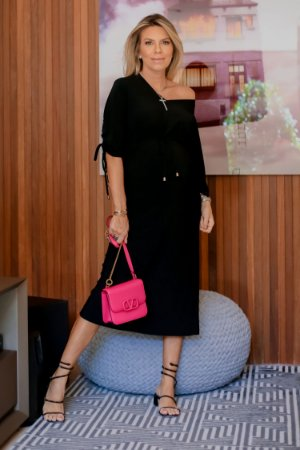 Vestido Madelaine Preto | RIVIERA FRANCESA