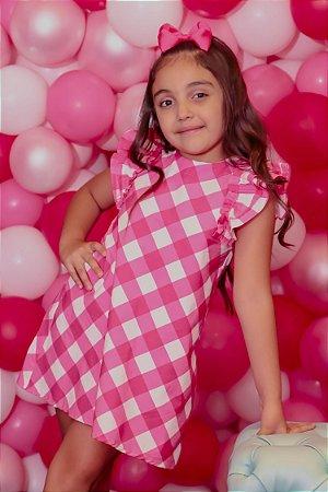 Vestido Blessinha Emmanuelle Pink   RIVIERA FRANCESA