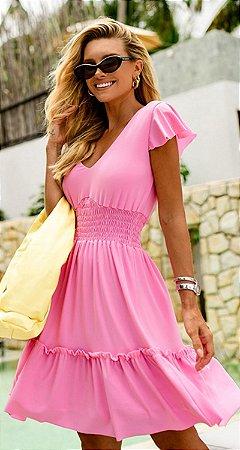 Vestido Dorothea Rosa | RIVIERA FRANCESA