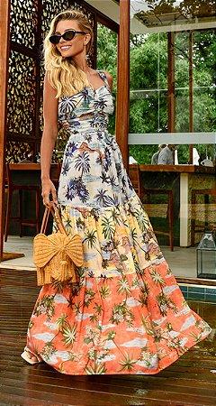 Vestido Longo Alexandrina | RIVIERA FRANCESA