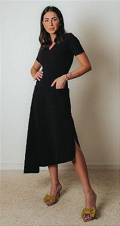 SPRING PREVIEW | Vestido Midi Verano Preto