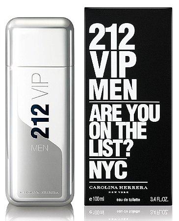 efee76d896 Carolina Herrera 212 VIP Men Eau de Toilette Perfume Masculino ...