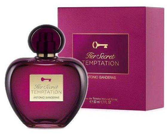 3c22e8363 Antonio Banderas Her Secret Temptation Eau de Toilette Perfume Feminino