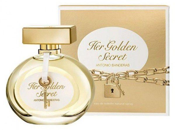 0da376de48 Antonio Banderas Her Golden Secret Eau de Toilette Perfume Feminino ...