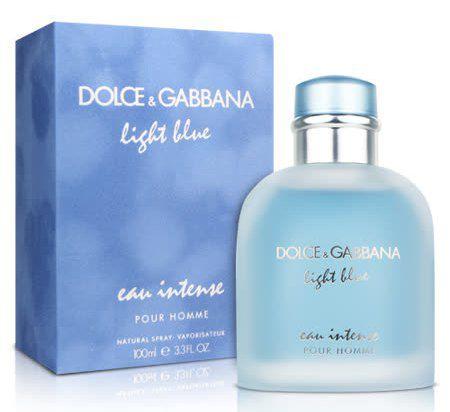637510f1e Dolce   Gabbana Light Blue Pour Homme Eau Intense Eau de Parfum Perfume  Masculino