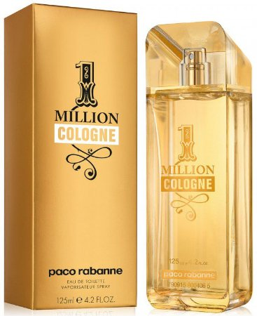 c101218946 Paco Rabanne One Million Cologne Eau de Toilette Perfume Masculino ...