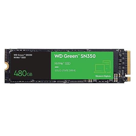 Hd SSD 480gb SN350 M.2 Western Digital - (WDS480G2G0C)