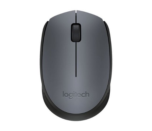 Mouse Logitech Wireless M170 Cinza