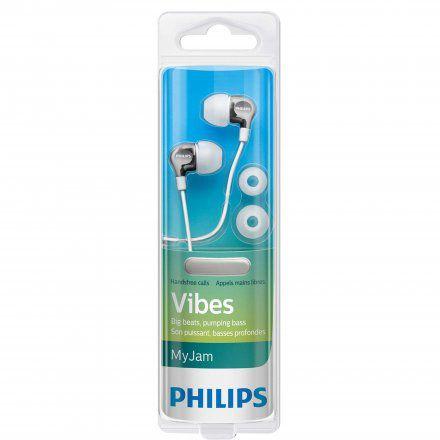 Fone de Ouvido Intra Auricular Philips Com Microfone SHE3705WT/00 Branco
