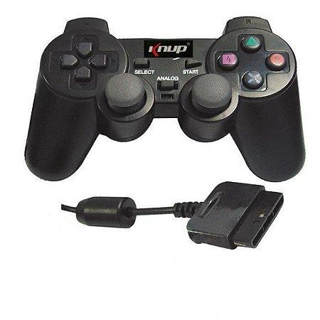 CONTROLE PARA PLAYSTATION 2 NS-2121 -  KNUP