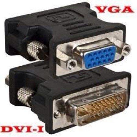 Adaptador DVI Macho x VGA Fêmea