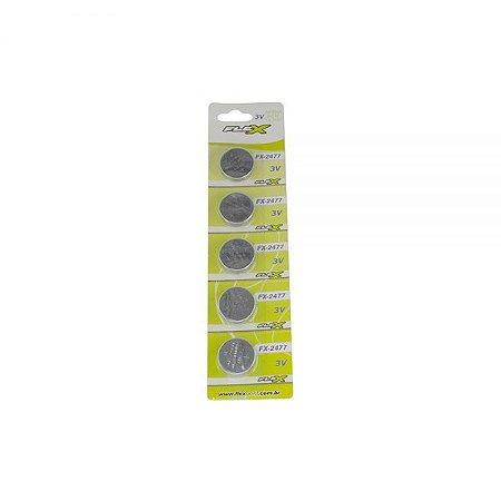 Bateria Botão Flex Fx-2477 3v (Unidade)