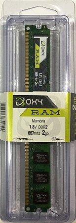 Memoria Desktop OXYRAM 2GB DDR2 800Mhz