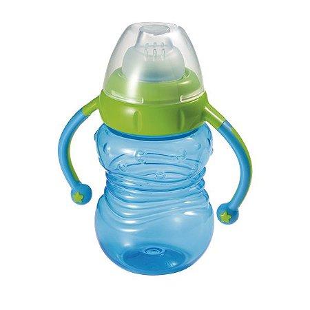 Copo de Treinamento Learn Azul 6M+ Multikids Baby - BB019