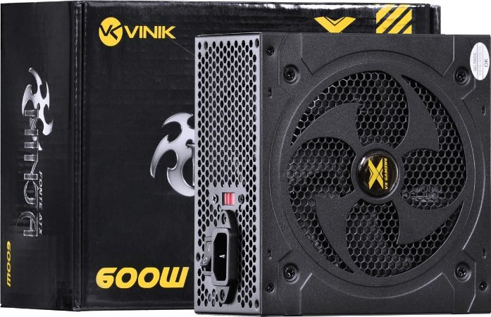 FONTE ATX VX NINJA 600W VINIK 110 220V