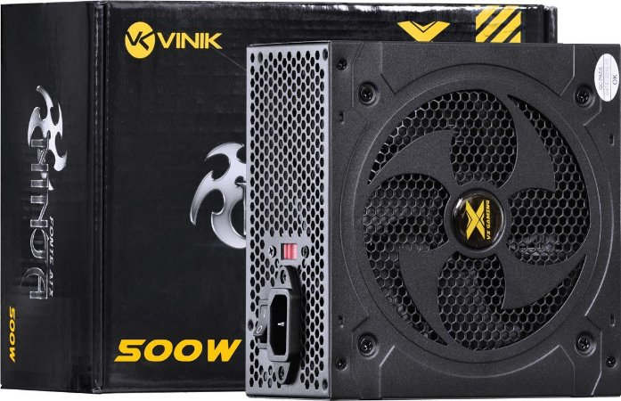 FONTE ATX VX NINJA 500W VINIK 110 220V