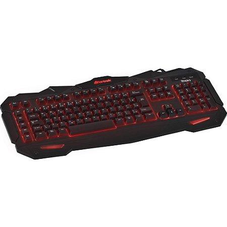 TECLADO GAMER FORTREK SPIDER GK705 PT/VM