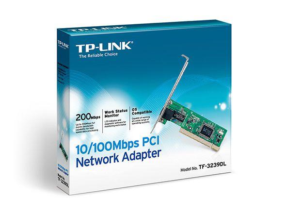 Placa PCI Rede 10/100 TP-Link TF-3239DL