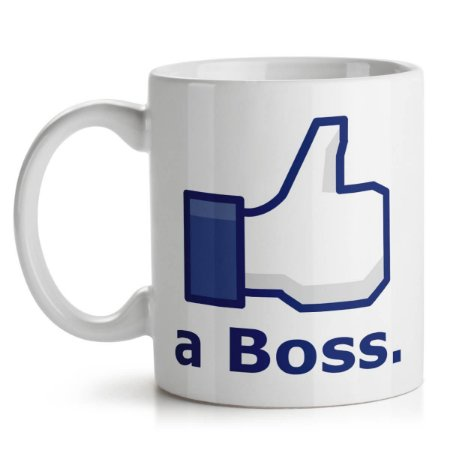 Caneca Like a Boss