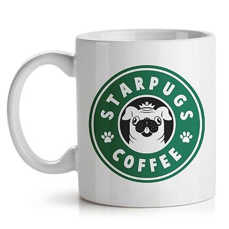 Caneca StarPugs Coffee