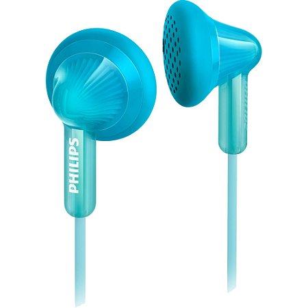 Fone de Ouvido com Graves Extras SHE3010TL/00 Azul Claro PHILIPS